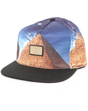 Accessories - Gold Standard Pyramid Strapback Hat