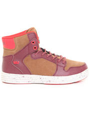 Supra - Vaider Lite Brown Leather Sneakers