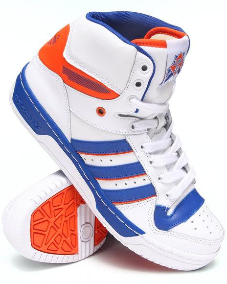 Adidas White Attitude Sneakers