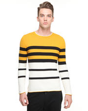 Sweaters - Gold Multi Stripe sweater
