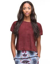 Women - Carrizo Suede Tee