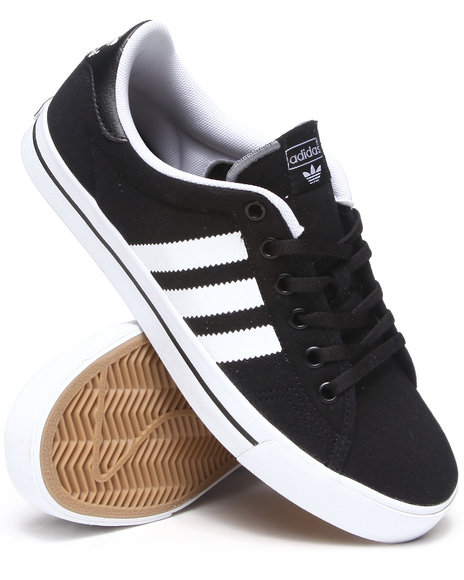 Adidas Black Adi Court Stripes Sneakers