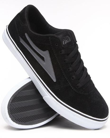 Lakai - Men Black,Grey Manchester Black/Grey Suede Sneakers