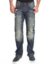 Jeans - Quilted Back - Pocket Denim Jeans
