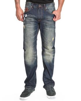 Heritage America - Quilted Back - Pocket Denim Jeans