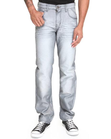 Basic Essentials - Men Grey Ranger Denim Jeans