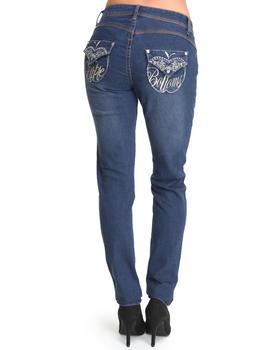 Apple Bottoms - Flap Pocket Skinny Jean
