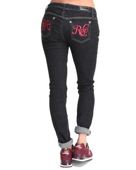 Rocawear - Roc on Red Logo Skinny Jean