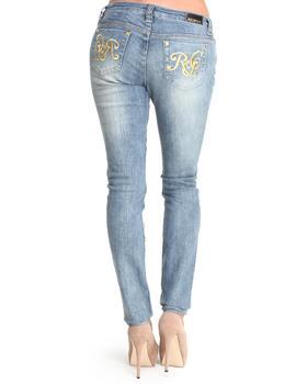 Rocawear - Roc on Gold Logo Skinny Jean