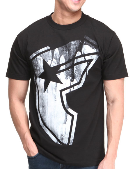 Famous Stars & Straps Black Drench Tee