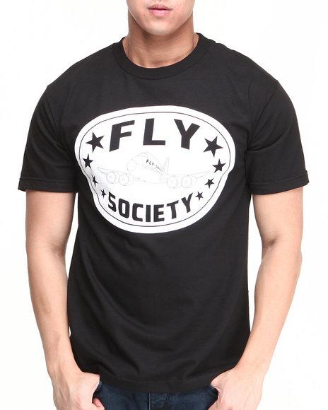 Flysociety Black Classic Ko T-Shirt