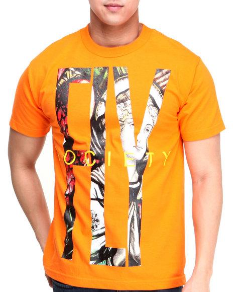 Flysociety Orange Fly T-Shirt