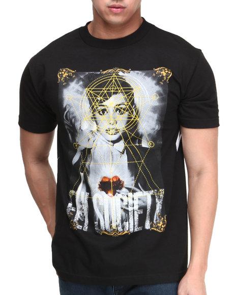 Flysociety - Men Black Higher Power T-Shirt