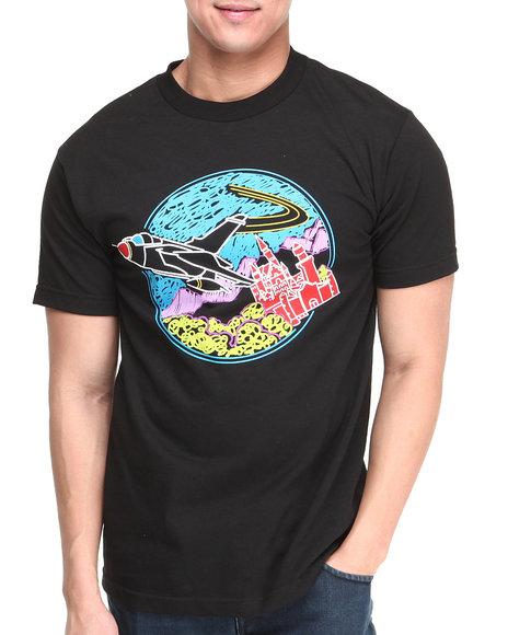 Flysociety Black Fy Doodle T-Shirt