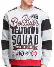 Men - Beatdown Squad Crewneck Sweatshirt