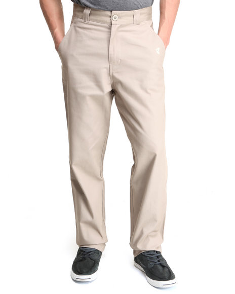 Famous Stars & Straps - Men Khaki Roam Chino Pants