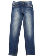 Girls - Z. Cavaricci Barcelona Distressed Skinny Jeans (7-16)
