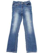 Sizes 7-16 - Big Kids - Z. Cavaricci Rainbow Prism Pocket Flare Jeans (7-16)