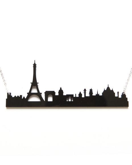 DJP OUTLET - Plastique Paris Skyline Necklace