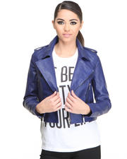 Leather & Fur - All Day Moto Jacket