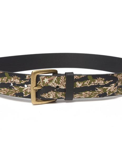 Famous Stars & Straps - Men Camo Tiger Camo Belt