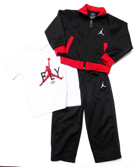 Air Jordan Boys Black 3 Pc