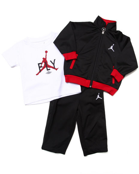 Air Jordan - Boys Black 3 Pc