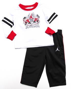 Air Jordan - 2 PC AJ LIL' SKETCH SET (INFANT)
