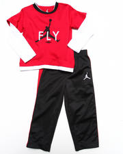 "Air Jordan - 2 PC ""FLY"" SET (2T-4T)"