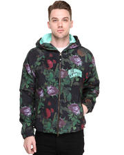 Hoodies - All Floral Galaxy Zip Jacket
