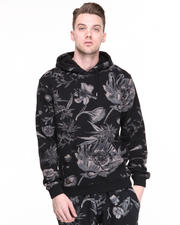 Men - Night  Vision Floral Hoody
