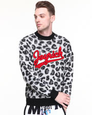 Sweaters - Candy Leopard Sweater