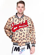 Men - Candy Leopard Athletic Jacket