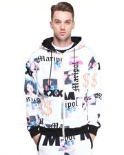 Men - Joy Rich x Maripol Portraits Hoodie