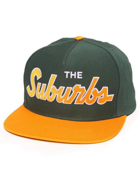 Skate Mental Suburbs Snapback Cap Green