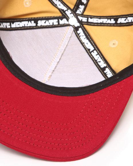 Skate Mental Suburbs Snapback Cap Gold