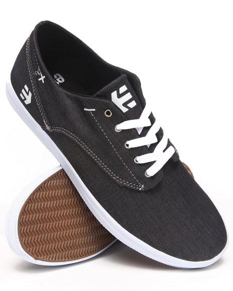 Etnies Black Dapper Sneakers