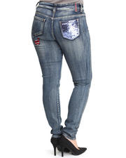 Women - Roc Out Skinny Jeans (Plus)