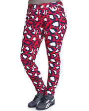 Women - Allover Love Coogi Print Skinny Jeans (Plus)
