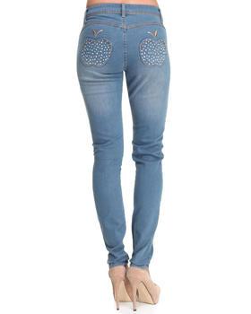 Apple Bottoms - Bling Apple Pocket Skinny Jean