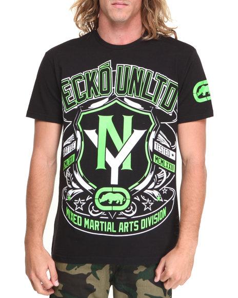 Ecko Black Heads Up Mma T-Shirt