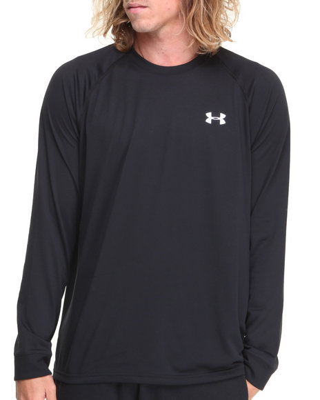 Under Armour Black Tech L/S Shirt