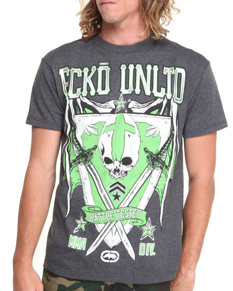 Ecko - Men Grey Divison T-Shirt