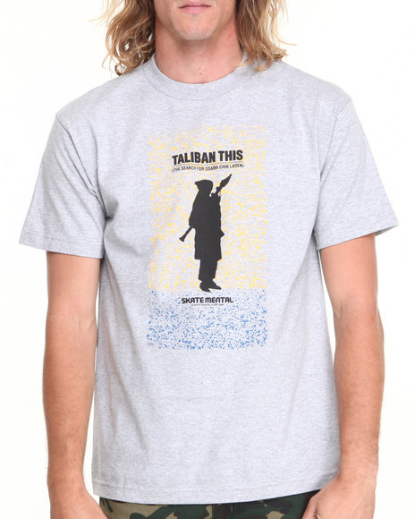 Skate Mental Grey Taliban This Tee