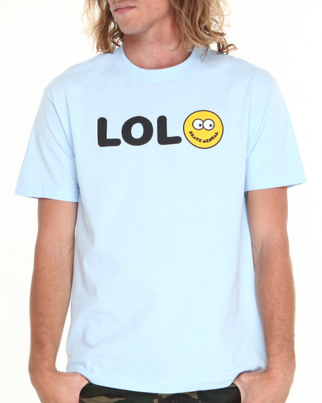 Skate Mental Light Blue L O L Tee