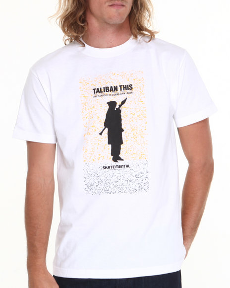 Skate Mental White Taliban This Tee