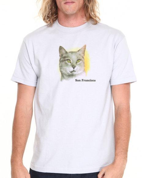 Skate Mental Silver A Cat Tee