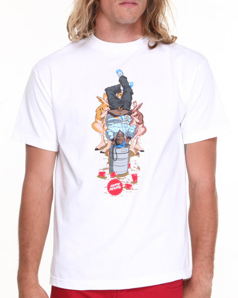 Skate Mental White Big Keg Stand Tee