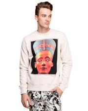 Men - Nefertiti Crewneck Fleece Sweatshirt