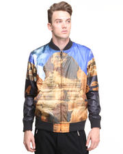 Men - Sphinx Nylon Bomber Jacket